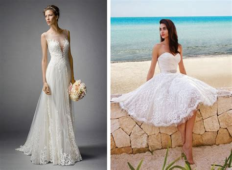 Beach Style Wedding Dresses For Cancun Weddings