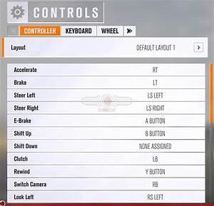 Forza Horizon 3 PC Performance Review Control Options