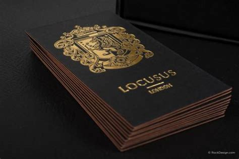 Luxury Business Cards + Free Business Card Templates