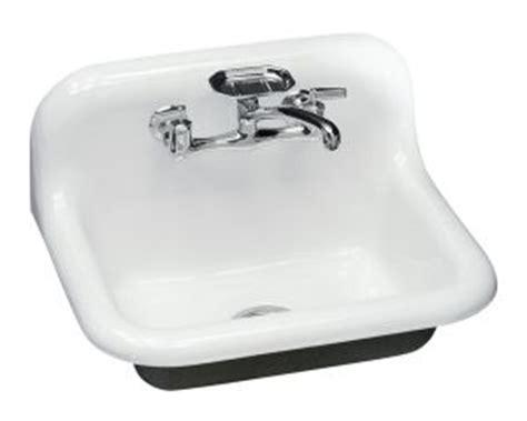 Kohler Utility Sink Drain by Kohler K 5980 Sutton Tm Utility Sink