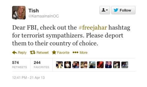 #freejahar: Boston bombing suspect has supporters online ...