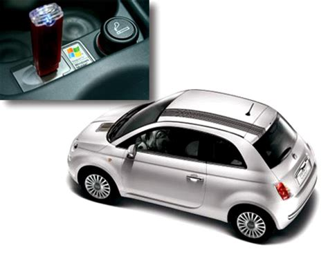 Mobil Fiat 500 by Fiat 500 With Windows Mobile System All Techno
