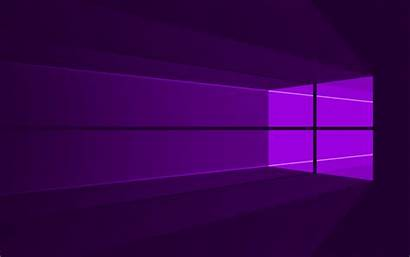 Windows 4k Microsoft Minimal Wallpapers Violet Abstract