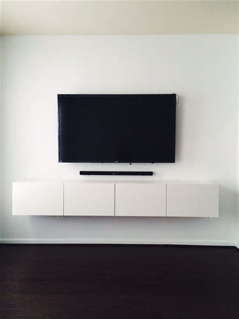 ikea wall mount tv stand the 25 best wall mounted tv unit ideas on pinterest wall mounted entertainment unit wall