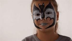 Maquillage Halloween Garcon : maquillage chauve souris tutoriel maquillage enfant ~ Melissatoandfro.com Idées de Décoration