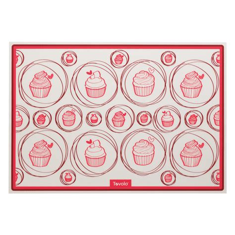 baking mat silicone oven safe reusable trays tovolo sheet