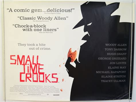small time crooks original cinema  poster