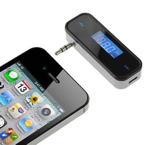iphone 6 mp3 luxury design lcd fm transmitter wireless radio adapter 17542