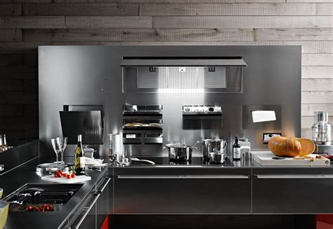inox kitchen accessories artematica inox by valcucine stylepark 1868
