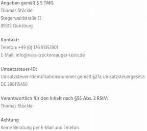 Nass Und Trockensauger Test : impressum nass trockensauger ~ A.2002-acura-tl-radio.info Haus und Dekorationen