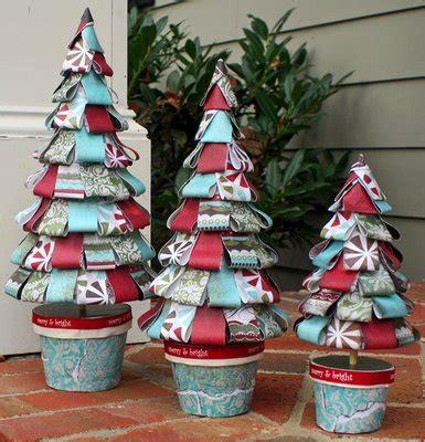 195 rboles de navidad hechos con tejidos y telas