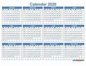 Monthly Calendar Template Microsoft Word 2020 Calendar With Week Numbers Printable Word Pdf Free