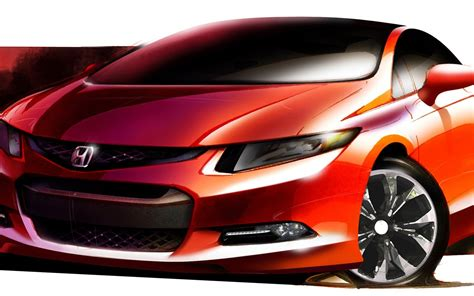 Awesome Honda City Sketch Hd Wallpapers