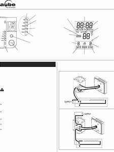 Aube Technologies Thermostat Th104 User Guide
