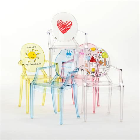 children s chair lou lou ghost by kartell in the shop