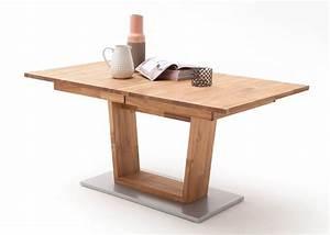Tisch Cassandra 160x90 Esstisch Ausziehbar Holz Massiv