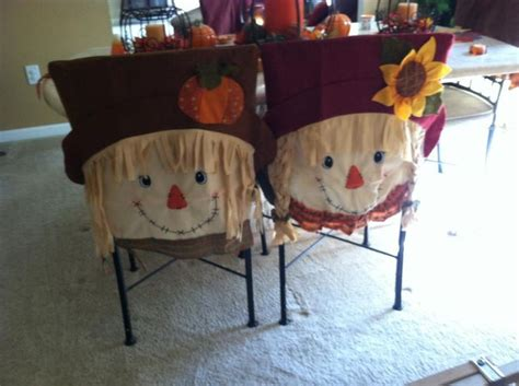Fall Chair Covers Holiday Decorating Pinterest Fall