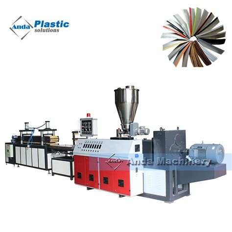 pvc edge banding tape extrusion machine  china manufacturer  machinery