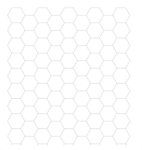 sample hexagon graph papers sample templates