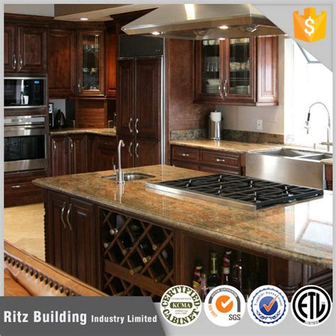 wholesale price commerical solid wood kitchen cabinets