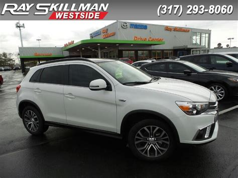Pre Owned Mitsubishi Outlander by Pre Owned 2018 Mitsubishi Outlander Sport Sel 2 4 Suv In