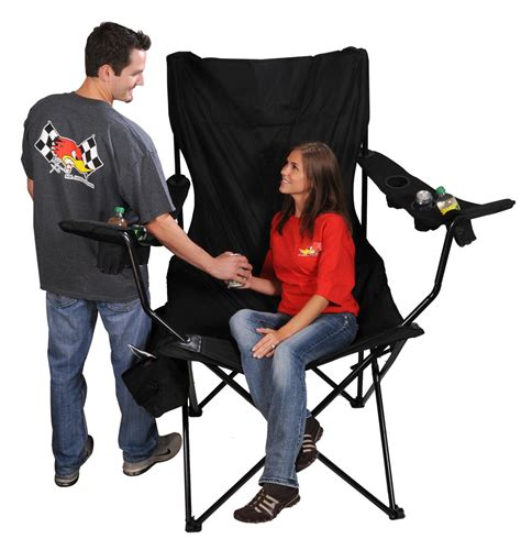 Oversized Kingpin Folding Chair by On The Edge Marketing Kingpin Folding Chairs 810169 Free