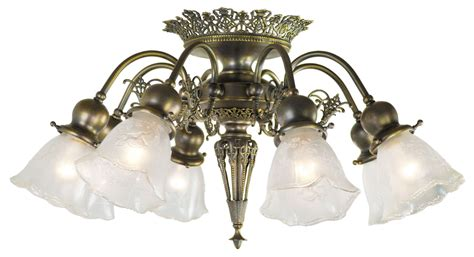 8 Light Pierced Brass Short Ceiling Chandelier (458-occ-fc Antique Pond Yachts Motorcycle Museum Iowa Double Sided Station Clock Jewelry Mexico City Vent Registers Large Parrot Cage Flip Top Card Table Silver Plated Cutlery
