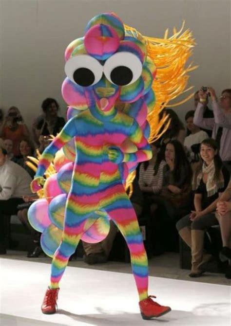 strange  crazy fashion