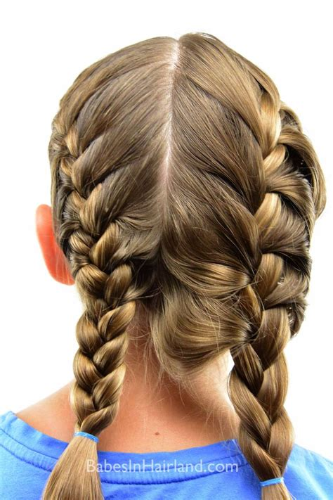 how to get a tight french braid toddler hair french