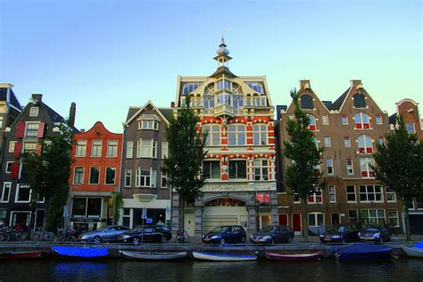 Amsterdam Capital And Most Visited City Of Netherlands World