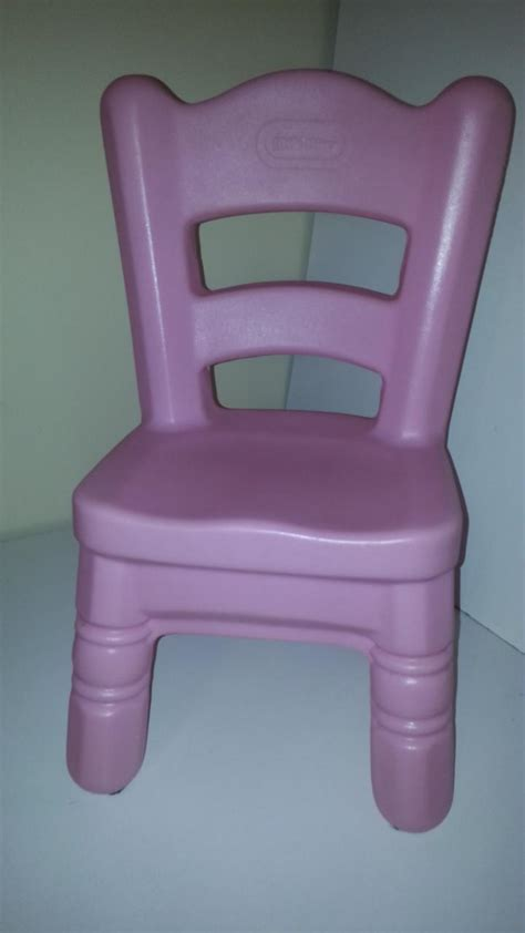 little tikes pink victorian chair for tender heart table