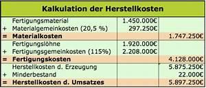Verkaufspreis Berechnen : herstellkosten des umsatzes hku rechnungswesen ~ Themetempest.com Abrechnung