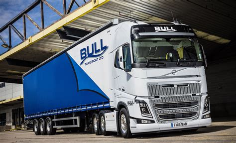 volvo trucks customer service more in store as bull transport s volvo fh16 750 hits the