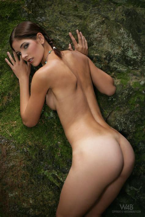 Demi Allen Nude In The Woods Sexy Models