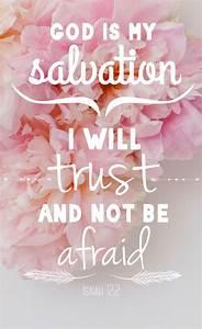 Isaiah 12:2 iPhone wallpaper/background | Get Jesus ...