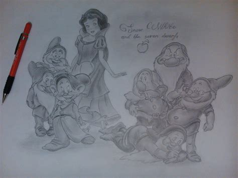 51 Snow White And The Seven Dwarfs By Alanisskas On
