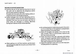 Komatsu Motor Grader Gd705a
