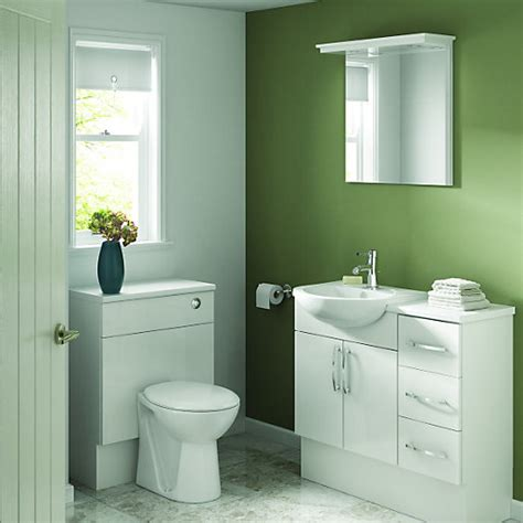 wickes bathroom wall cabinets wickes seville white gloss fitted drawer unit 300 mm 21661