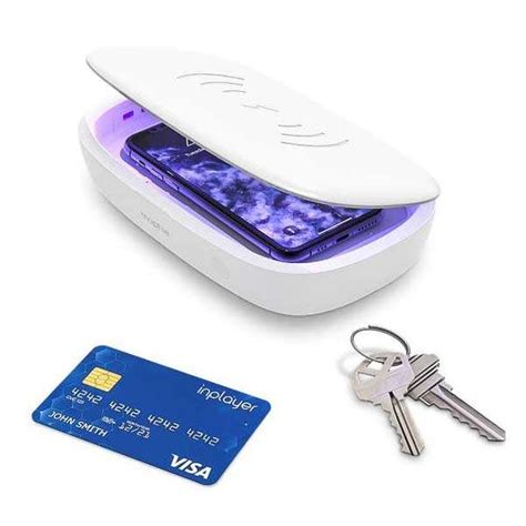 Mophie UV Sanitizer with Wireless Charger   Gadgetsin