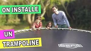 Prix D Un Trampoline : trampoline dans le jardin ouverture du colis montage d ~ Dailycaller-alerts.com Idées de Décoration