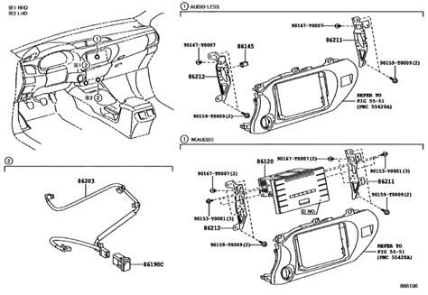 radio receiver lifier condenser for 2015 2018 toyota hilux 4runner truck kun135