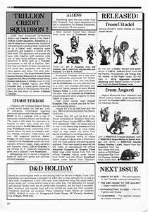 Classic Miniature Ads from White Dwarf Magazine Page Two
