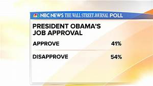 Obama's job approval rating at all-time low - TODAY.com