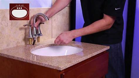 installing  pfister  centerset bathroom faucet
