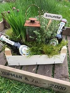 quotmanine makesquot ein biergarten als geldgeschenk With französischer balkon mit geschenk garten frau