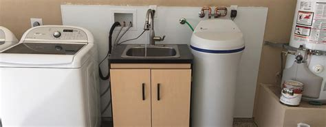 how to install a sink in the garage diy plumbing how to install a utility sink