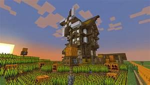 "Minecraft Creations on Twitter: ""#Minecraft windmill ..."