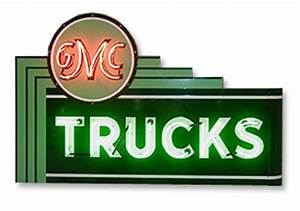 GMC Trucks Dealer Neon Sign ChevyMall