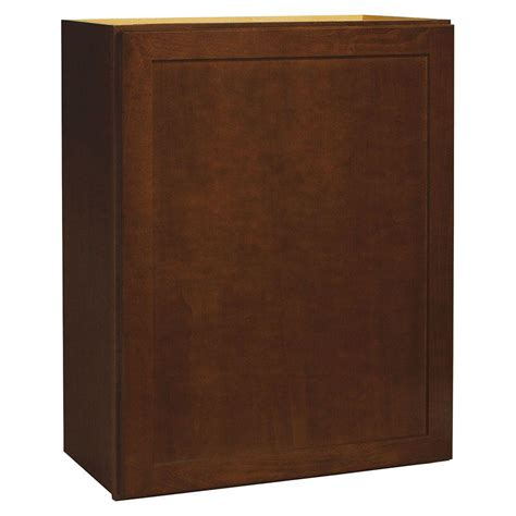 hton bay shaker wall cabinets hton bay 30x30x12 in hton wall cabinet in cognac
