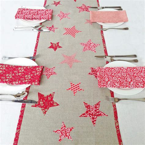 Liberty Fabric Christmas Table Runner Kit  Alice Caroline